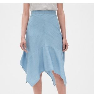 GAP Handkerchief Midi Skirt in TENCEL